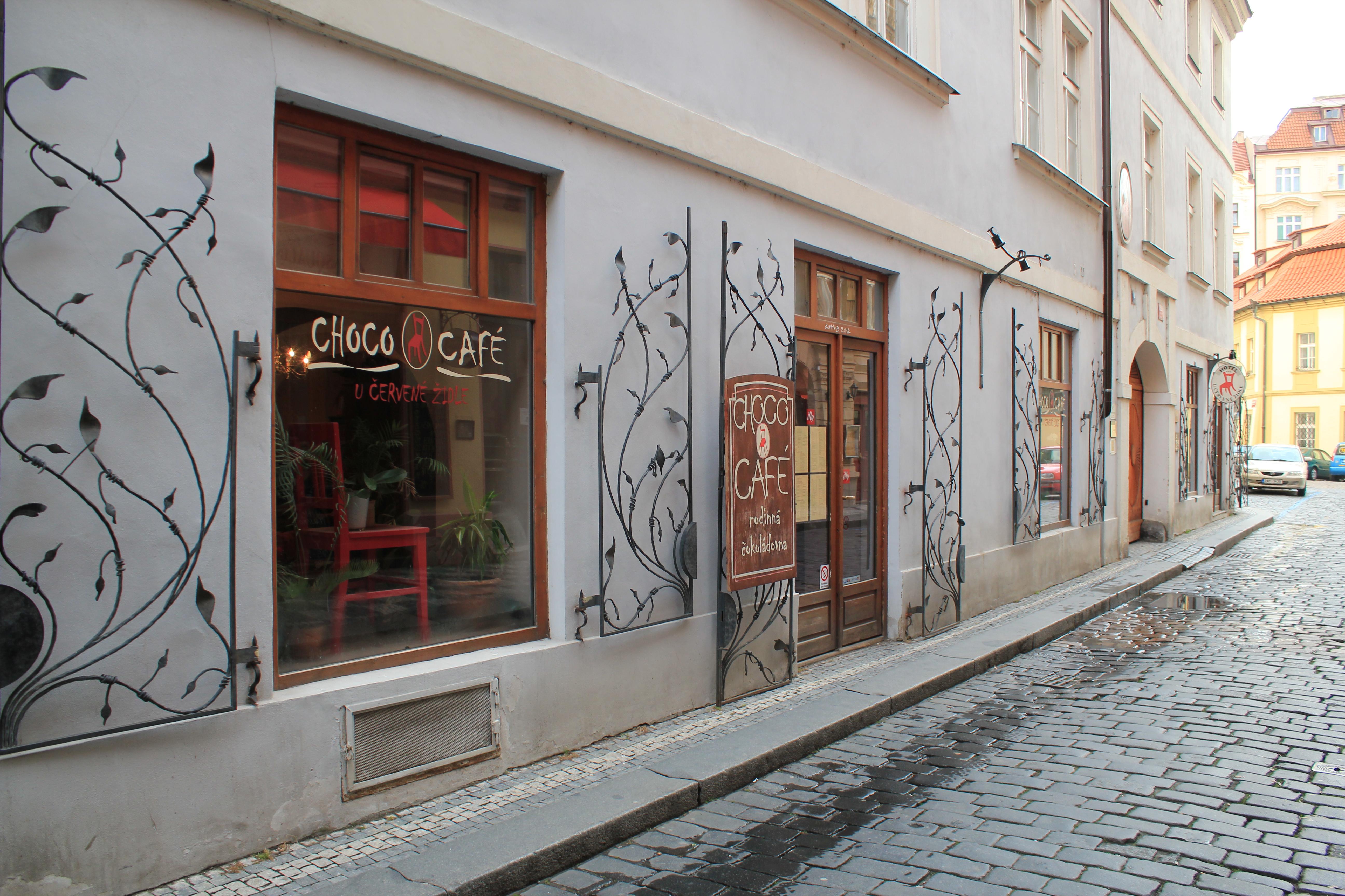 Choco Cafe Prague Menu
